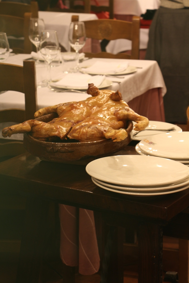 Cochinillo en Restaurante José María