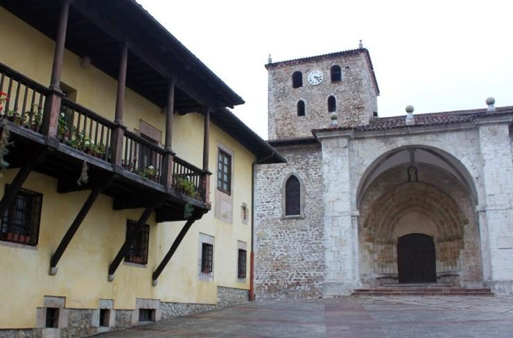 6328 basilica de santa maria del conceyu llanesH