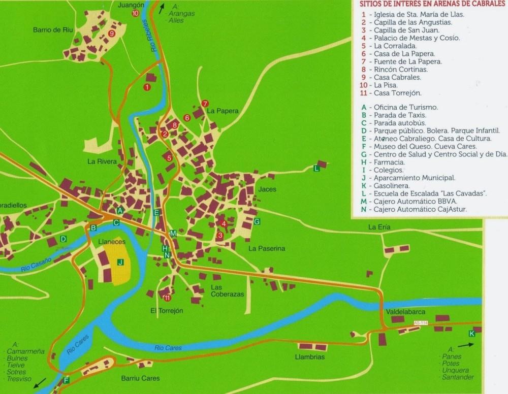 mapa paseob